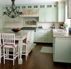 cottage kitchen design. French Landscape Mural In Cottage Kitchen Design Traditional-kitchen A