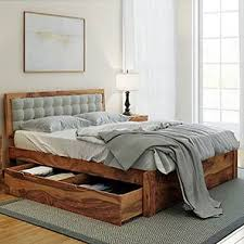 king bed with storage. Delighful Storage Florence Storage Bed Teak Finish King Size Monochrome Paisley By  Urban In With D