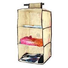 hanging 3 shelf closet organizer 3 shelf hanging wardrobe storage clothing shelves closet organizer in storage hanging 3