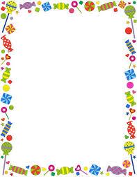 candyland border clip art. Delighful Art A Candythemed Page Border Free Downloads At Httppageborders  In Candyland Border Clip Art N