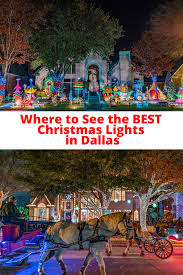 The Best Light Show In The World Where To View Christmas Lights In Dallas Best Christmas