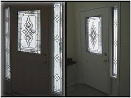 inserts decorative stained of stained glass doors post