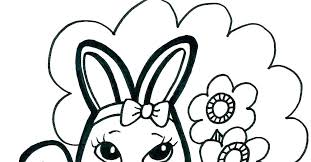 Free Baby Bunny Coloring Pages Of Rabbits Bugs Rabbit Sheets Cute Cu