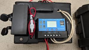 diy portable camping battery