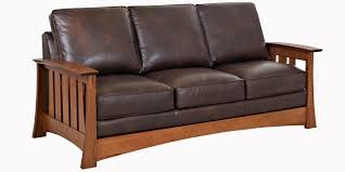Types Living Room Furniture Mission Style Leather Pillow Back Living Room Seating Club Furniture