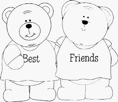 Best Friend Coloring Pages For Girls Color Bros