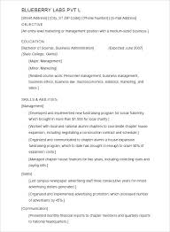 Resume For Students Template Resume For College Undergraduate N ...