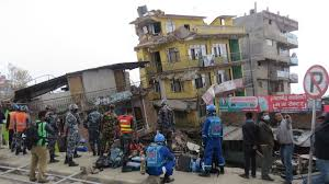 photo essay fpc missionary takes photos of earthquake damage buildings lean from saturdays 7 8 magnitude earthquake in downtown kathmandu
