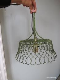 how to make a diy pendant lamp thrift diving blog 6