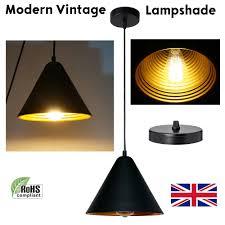 vintage industrial style metal retro modern ceiling pendant light lamp shades uk
