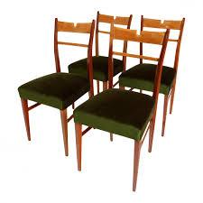 italian wooden furniture. Italian Wood \u0026 Green Velvet Dining Chairs, 1950s, Set Of 4 Wooden Furniture X