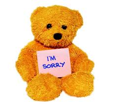 im sorry teddy bear stock photo image of background 106416934