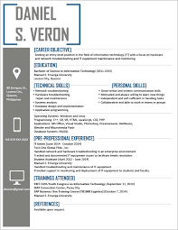 It Resume Template Enchanting It Resume Templates Techtrontechnologies