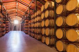 wine barrel storage