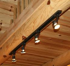 full image for track lighting for dark hallway long ceiling lights photo led