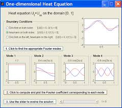 matlab guis one dimensional heat equation
