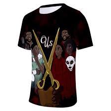 Amazon Com Hamiqi Horror Film Us Mens T Shirts Dark Horror