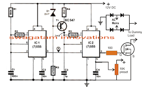 simple dc motor speed controller circuit electronic circuit projects