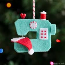 Easy Felt Christmas Tree Ornaments Pack  So Sew EasyEasy Christmas Crafts To Sew