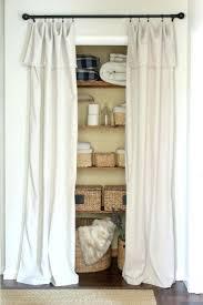 Closet: Curtains For Closet Doors Best Closet Door Curtains Ideas On Room  Door Best Closet