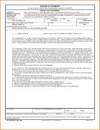 Sworn Statement Example Da Form Example Final Print Sworn Statement Template With Regard 5
