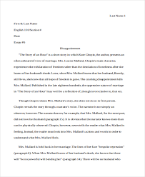 analysis essay examples samples literary analysis