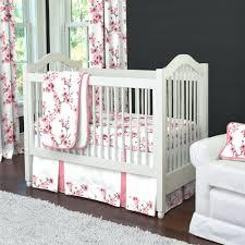cherry blossom crib bedding set cherry blossom 3 piece crib bedding set  carousel designs cherry blossom .