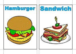 Food Flash Cards Savoury Food Flashcards By Laura Banks Teachers Pay Teachers