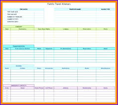 Free Trip Itinerary Planner Cream Travel Itinerary Planner Family Template Rafaelfran Co
