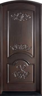 single front doorsFront Door Custom  Single  Solid Wood with Espresso Finish