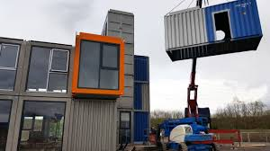 shipping container office building. Design And Build New B\u0026A Group Office Building Located In Severn Road, Hallen Bristol. With The Completion Date Approaching Next Week, Shipping Container D