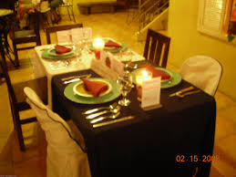 Indonesian Table Setting Set Up Dinner Table Excellent Silver Christmas Dinner Table