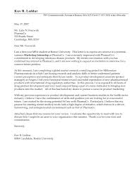 Writing Successful Cover Letters 17 Good Letter Example Examples The