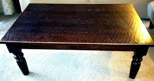 madera coffee table dimensions