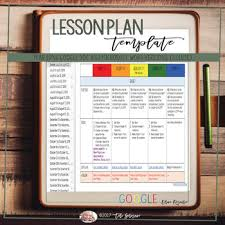 Ms Word Lesson Plans Year Long Google Doc Microsoft Word Lesson Plan Templates Tpt