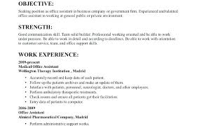 Good Resume Objectives resume Sample Resume Objectives 36
