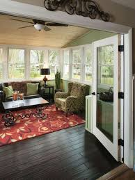 35 Beautiful Sunroom Design Ideas Sunroom Ceiling and Traditional