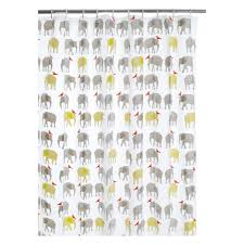 topsy multicoloured patterned shower curtain  buy now at habitat uk