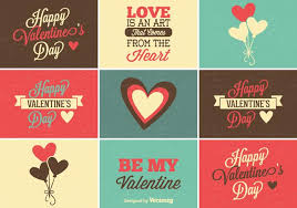 cute set of valentine s day labels