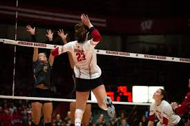 Wisconsin Badgers Volleyball Multiple Badgers Win Weekly