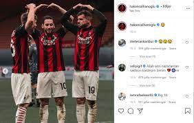 "Photos: Milan players react to Benevento win on social media - ""Another  four finals"