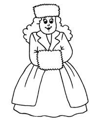 Small Picture Winter Clothes Coloring Pages Sweater Winter Clothes Coloring