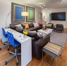 narrow office desks. home decorating trends u2013 homedit narrow office desks