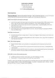 Sample Resume Business Development Resume Sample Source
