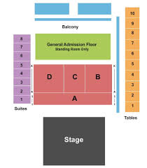 Bomb Factory Seating Chart The Bomb Factory Tickets And The Bomb Factory Seating Chart