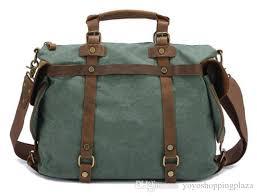 duffle bag 2017 men retro canvas leather duffle travel casual tote bag fashion business shoulder bags