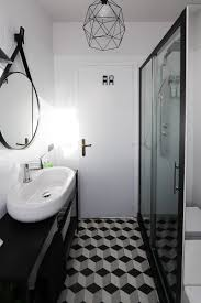 spacious all white bathroom. Spacious Small Black And White Bathroom My Before After Complete Makeover Of All A
