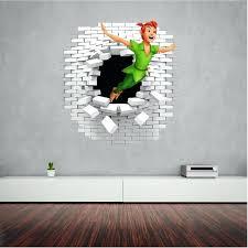 peter pan wall decals art text peter pan wall decal and decals great in the kids peter pan wall