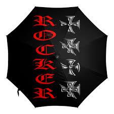 Зонт-трость с деревянной ручкой Рокер #2331667 – купить яркие ...