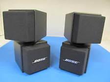 bose double cube speakers. bose double cube speakers pair am5 identical gray r